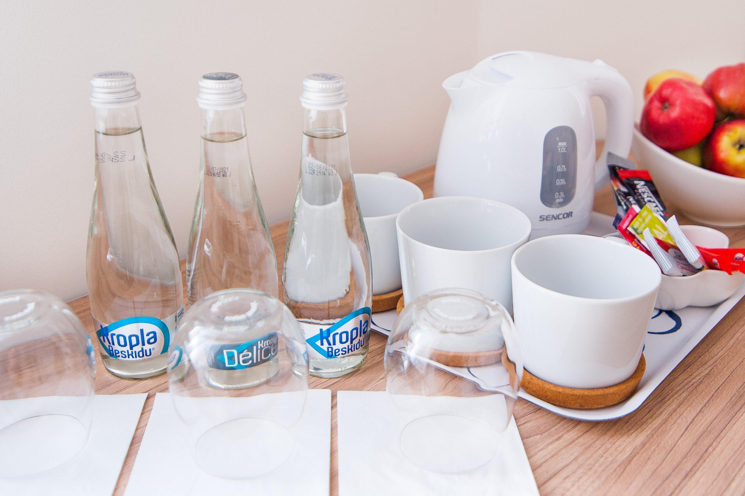 Buteleczka wody Gratis
